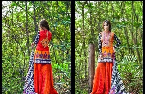 Spring|Summer Lawn Collection For Young Girls By Zainab Chottani From 2014 | Women Fashion | Women fashion | Scoop.it