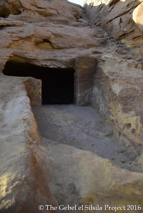 Halladas más de 40 tumbas de la XVIII dinastía en Gebel el-Silsila, Asuán (Egipto) | Enseñar Geografía e Historia en Secundaria | Scoop.it