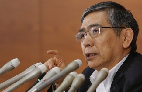 Bank of Japan's Kuroda says they will do whatever it takes to beat deflation | City A.M. | The Dollar Bubble | Scoop.it