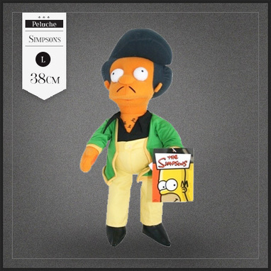 Peluche Apu Simpson Kwik E Mart 38cm | Boutique Muku | Scoop.it
