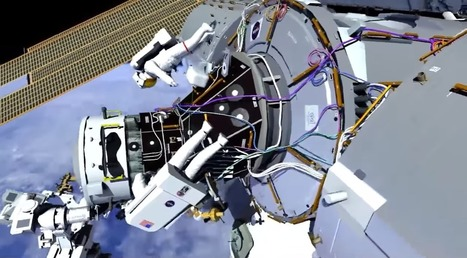 New 'front porch' added to International Space Station | The NewSpace Daily | Scoop.it