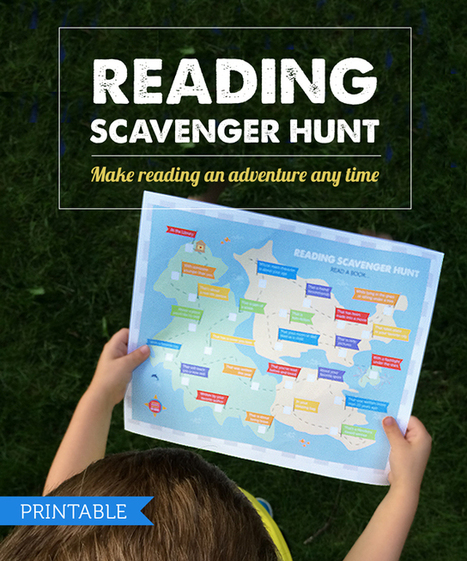 Free Printable: Reading Scavenger Hunt | Kids Craft | Scoop.it
