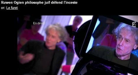 Il défend l'inceste en direct sur France 2 | ACTUALITÉ | Scoop.it
