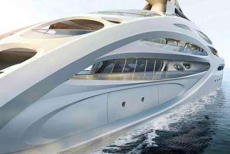 Mega-Yachts Mimic The Shape - PSFK | ScubaObsessed | Scoop.it