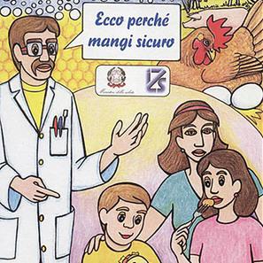 Ecco perché mangi sicuro, gli opuscoli del Ministero   Sicurezza alimentare   Scoop.it