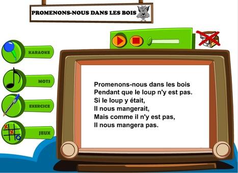 Jeu chante en classe : Apprendre le français en chansons | comprehension orale | Scoop.it