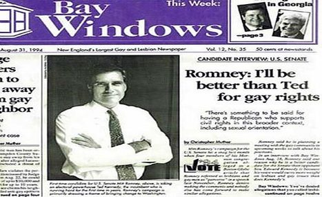 """Mitt """"More gay than Ted Kennedy"""" Romney says straight parents are better than gay ones 