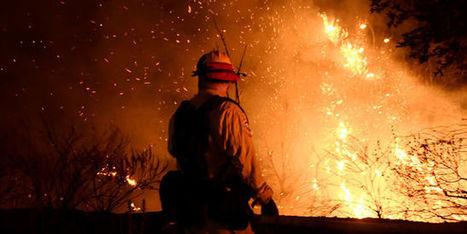 Des dizaines de milliers de personnes fuient les flammes en Californie   Planete DDurable   Scoop.it