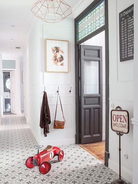 Un appartement entre vintage et classique | CD-rooms | architecture intérieure & décoration | Scoop.it