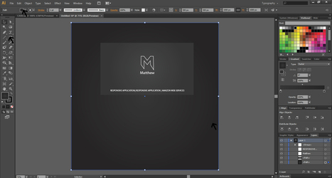 How to Create A Business Card Design in Illustrator | Inspired By Design | Scoop.it