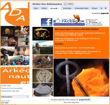 Les réseaux sociaux de l'ADA (1) – Facebook | ASA-SHS | Archéologie et Patrimoine | Scoop.it