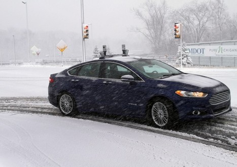 Dashing Through the Snow, Driverless #driverlesscar #frictionless | Connected Car | Scoop.it