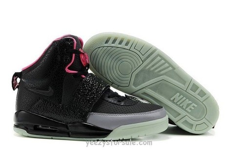 Nike Air Yeezy 1 Black/Pink [Yeezys-05] - $84.99 : | Cheap Air Yeezy outlet online | Scoop.it