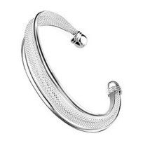 Hot Sale! Silver Plated Fashion Bangle | Fashion | Scoop.it