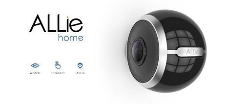 Test d'une caméra de sécurité 360°: la Allie Home   Smart Home & Smart Objects   Scoop.it