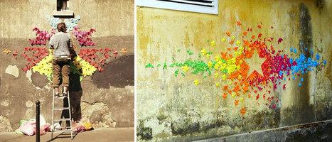 Mademoiselle Maurice, quand l'origami devient Street Art ! | Loisirs créatifs, DIY & activités manuelles | Scoop.it