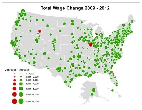 Where Wages Have Grown the Most (and Least) Since the Recovery | VETERANS EMPLOYMENT SUCCESS CENTER | Scoop.it