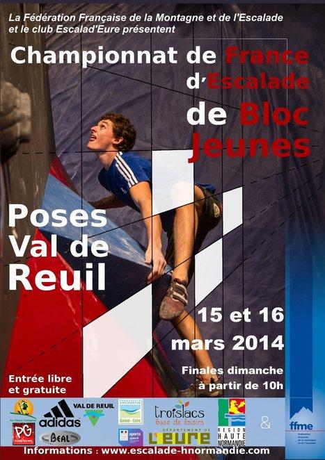 Présentation du Championnat de France Jeunes de Bloc 2014 | Dans la CASE & Alentours | Scoop.it