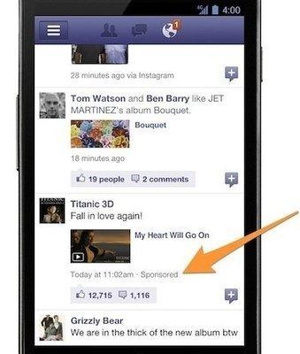 Los anuncios en los móviles, ¿la salvación para Facebook y Twitter?   Claves del Mobile Marketing   Scoop.it