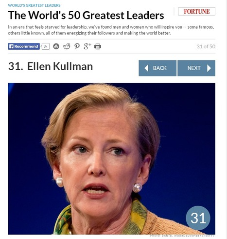 Fortune ranks the World's 50 Greatest Leaders | DuPont ASEAN | Scoop.it