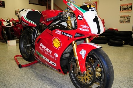 eBay | Ducati : Superbike | 1999 World Super Bike Ex Carl Fogarty | Ductalk Ducati News | Scoop.it