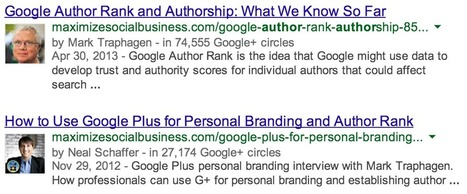 Getting the Most Out of Google Plus Authorship for Your Blog | Links sobre Marketing, SEO y Social Media | Scoop.it