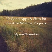 Free Technology for Teachers: 10 Good Apps & Sites for Creative Writing Projects | Tech in teaching | Scoop.it