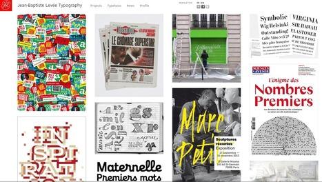 La création typographique avec Jean-Baptiste Levée - Bloc notes | TYPOGRAPHIE | Scoop.it