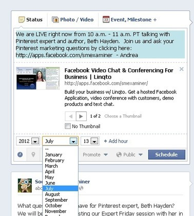8 Tips for Using Facebook Scheduled Posts | Social Media Examiner | Social Media Marketing - SMO | Scoop.it