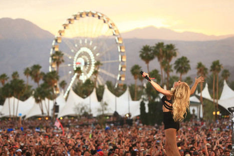 Coachella goes virtual with three YouTube streams and a VR experience | E-Music ! | Scoop.it