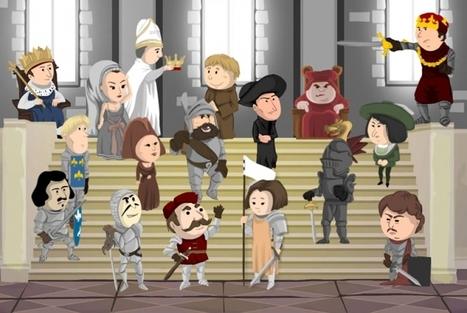 Personnages marquants du Moyen Age | Histoire du Monde | Scoop.it