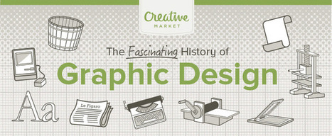 Infographic: The History of Graphic Design | Concevoir une présentation pour enseigner | Scoop.it