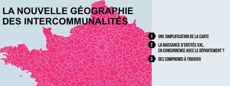 La nouvelle géographie des INTERCOMMUNALITÉS | actions de concertation citoyenne | Scoop.it