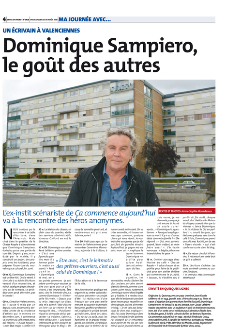 Dominique Sampiero, le goût des autres | Revue de presse | Scoop.it