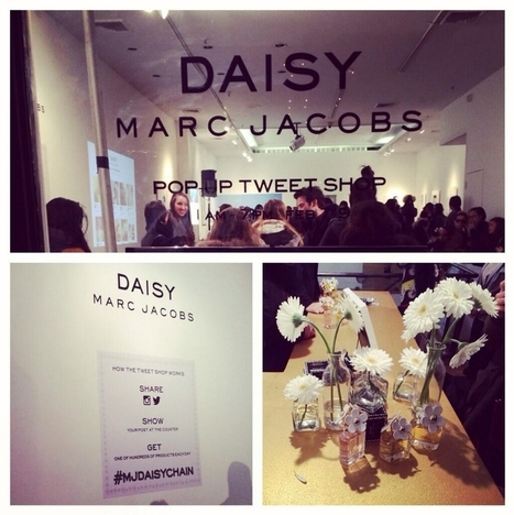 Le tweet shop de Marc Jacobs à New York | Veille e-commerce, marketing digital | Scoop.it