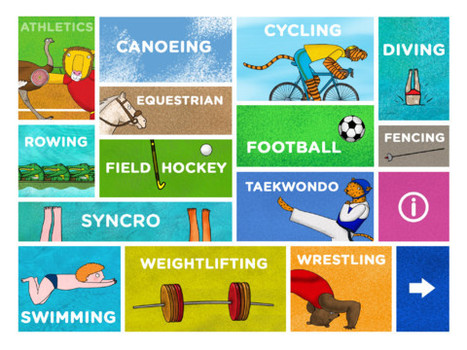 Zoo Champs iPad App Takes Your Kids to the Olympics | English Language Teaching in Practice | Scoop.it