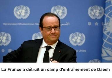 Syrie : Pour sa première frappe, la France a détruit un camp d'entraînement de Daesh, annonce Hollande | Les infos de SXMINFO.FR | Scoop.it