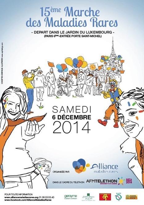 15ème Marche des Maladies Rares - Alliance Maladies Rares   Maladies chroniques et Education Thérapeutique   Scoop.it