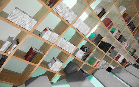 This Reading Nook Wraps You In A Glorious Cocoon Of Books | digitalNow | Scoop.it