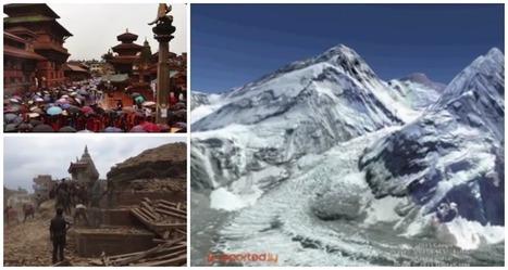 Así se hace un informe sobre el terremoto en Nepal con Google Earth | Educacion, ecologia y TIC | Scoop.it