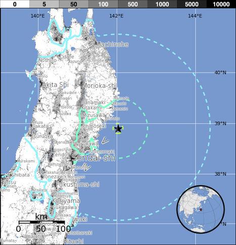 M6.8 - 33km SE of Ofunato, Japan   Japan Tsunami   Scoop.it