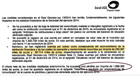 Soria reconoce en secreto a ACS otros 295 millones en compensaciones por Castor. Noticias de Empresas | El autoconsumo es el futuro energético | Scoop.it
