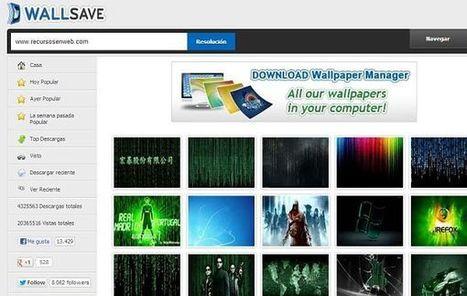Wallsave, wallpapers gratuitos y de enorme calidad para cualquier resolución de pantalla | Las TIC y la Educación | Scoop.it