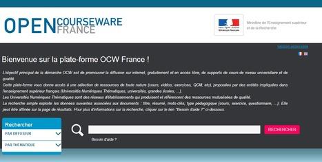 Open CourseWare France:  Supports de cours de niveau universitaire gratuits et en accès libre | eol | Scoop.it