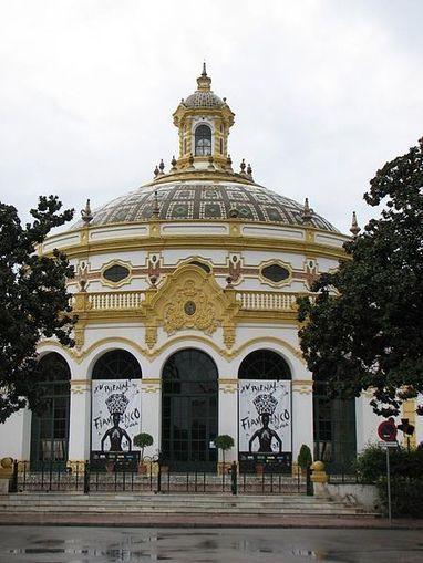 Geometría en el Casino de la Exposición, Sevilla. | Matemolivares | Dibujo Técnico a través del arte. Arte a través del Dibujo Técnico. | Scoop.it