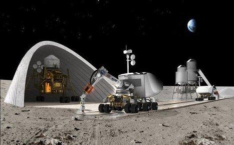 La NASA offre $50,000 pour imaginer des habitations extra-terrestres grâce à l'impression 3D | qrcodes et R.A. | Scoop.it