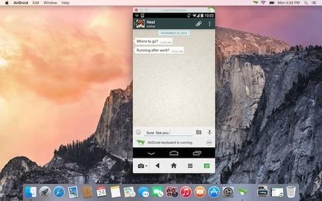 Airdroid 3 - Répondez à vos SMS et prenez le contrôle de votre Android depuis votre ordinateur - Korben | Scoop.it Sysico | Scoop.it