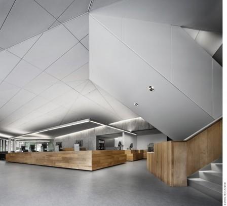 Bibliothèque Raymond-Lévesque / Manon Asselin + Jodoin Lamarre Pratte   Architecture et bibliothèque   Scoop.it