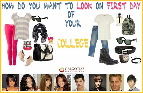 What to wear on first day at #college | Galgotias University | Scoop.it