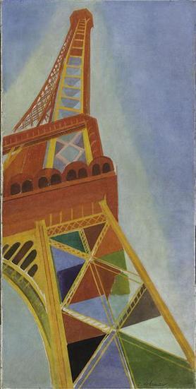 CE JOUR LA ... 6 mai 1889, la Tour Eiffel est ouverte au public. (Robert Delaunay, La Tour Eiffel 1926) | Clic France | Scoop.it